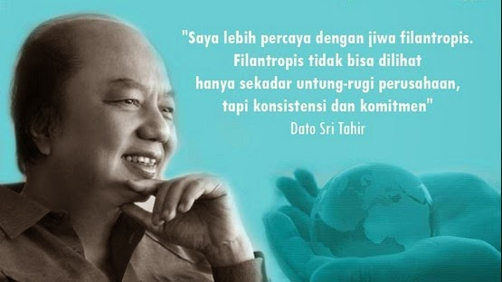 Dato tahir mayapada bank penasehat TNI