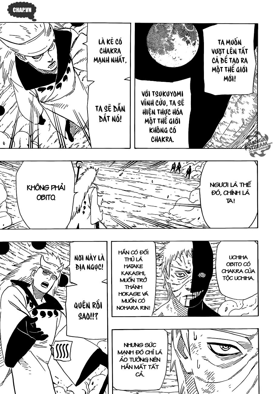 Naruto chap 665 Trang 9
