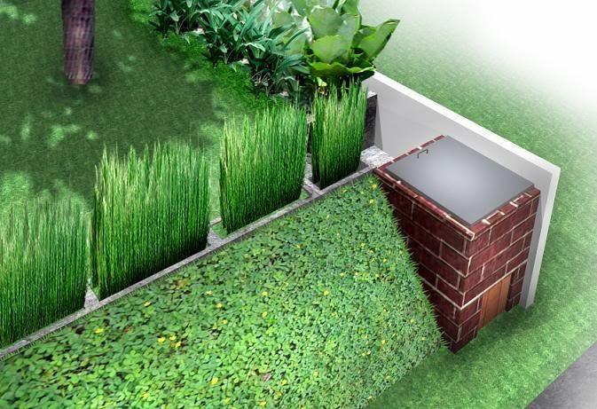 membuat pagar hidup untuk rumah terlihat indah dan eksotis