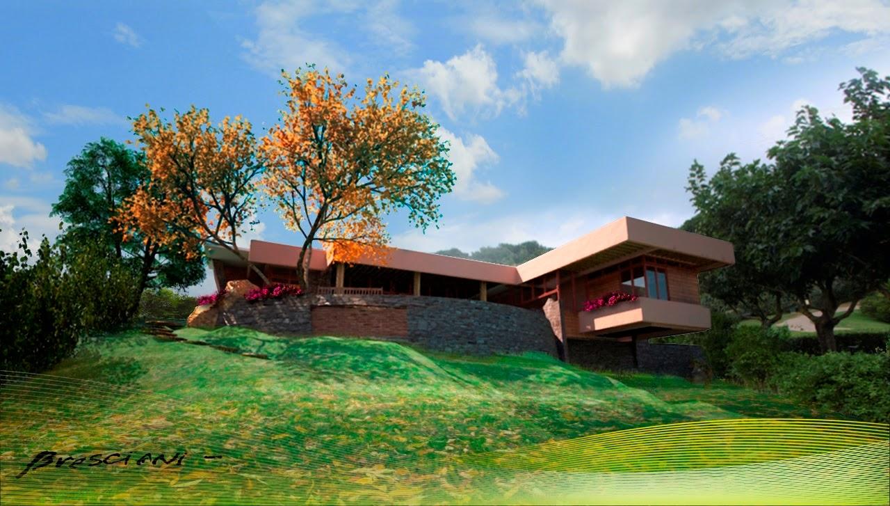 Buganville casas de campo bresciani proyectos for Casa campo y jardin