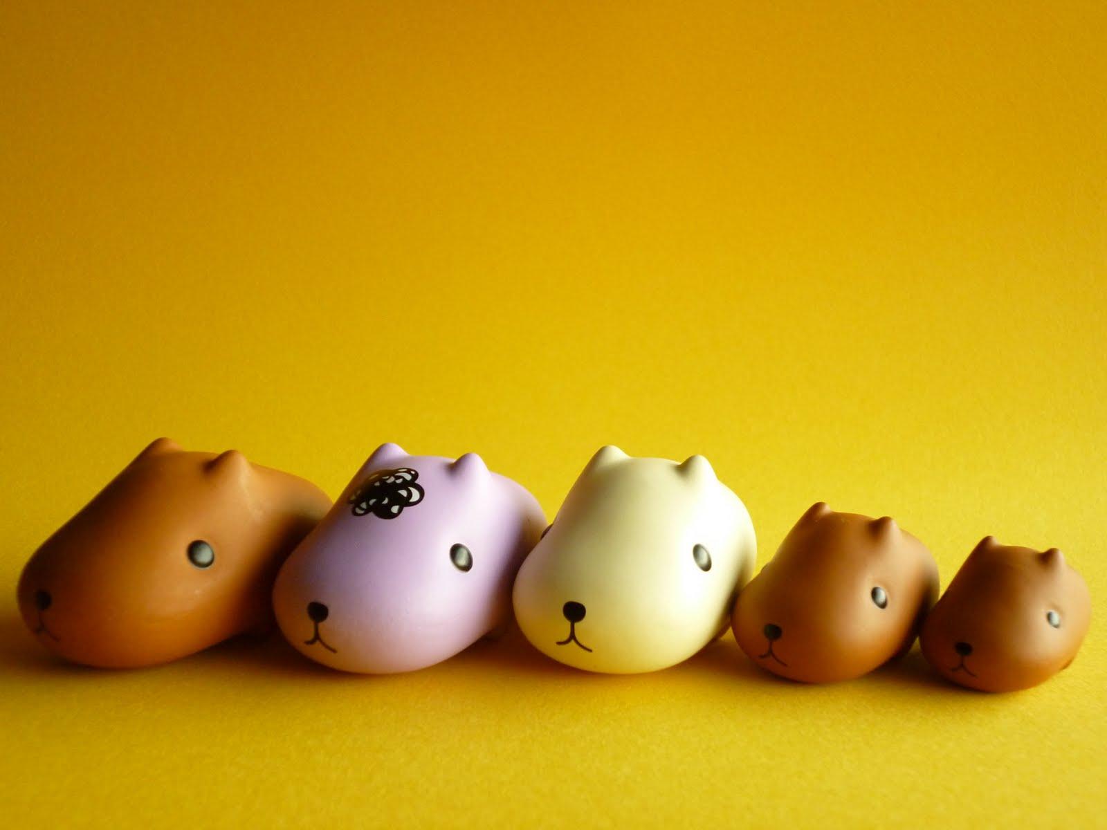 Cute Japanese Toys : Kawaii cute japan kapibarasan mini figure