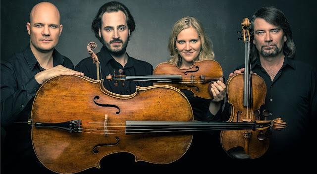 The musicians of the Quartetto Artemis