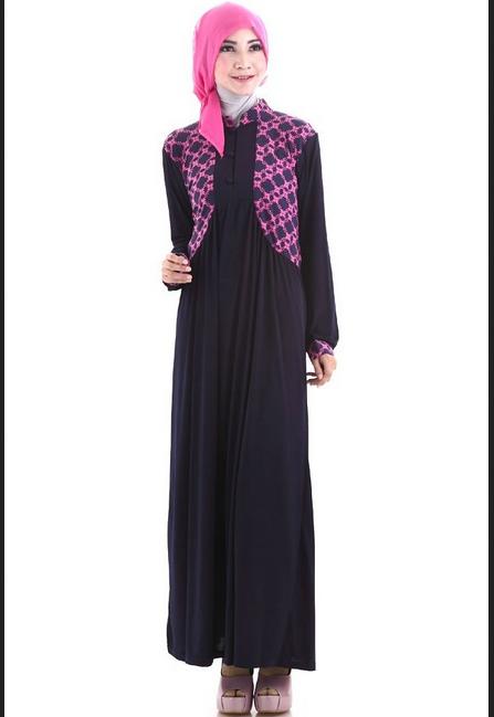 Model Baju Gamis Sederhana Tapi Elegan