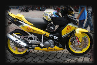 Modifikasi Motor Yamaha Jupiter Z 02