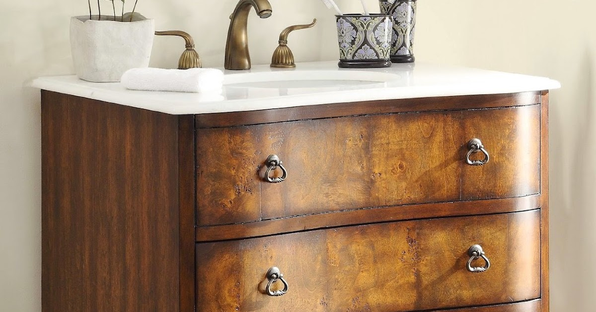Discount bathroom vanities antique bathroom vanities - Antique traditional bathroom vanities design ...