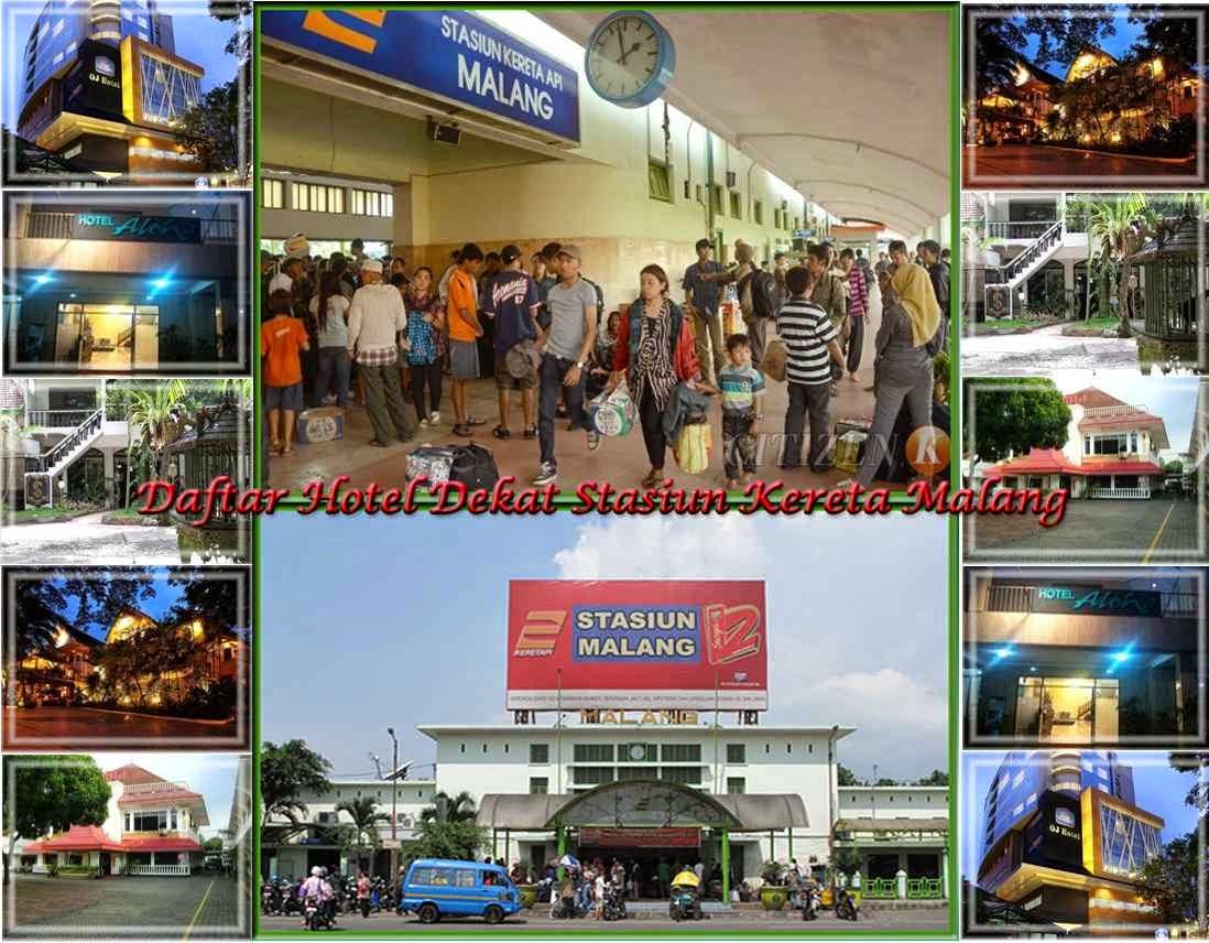 Daftar Lengkap Nama Alamat Dan Nomor Telepon Hotel Dekat Stasiun Kereta Api Malang