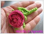 Rose für die Handtasche
