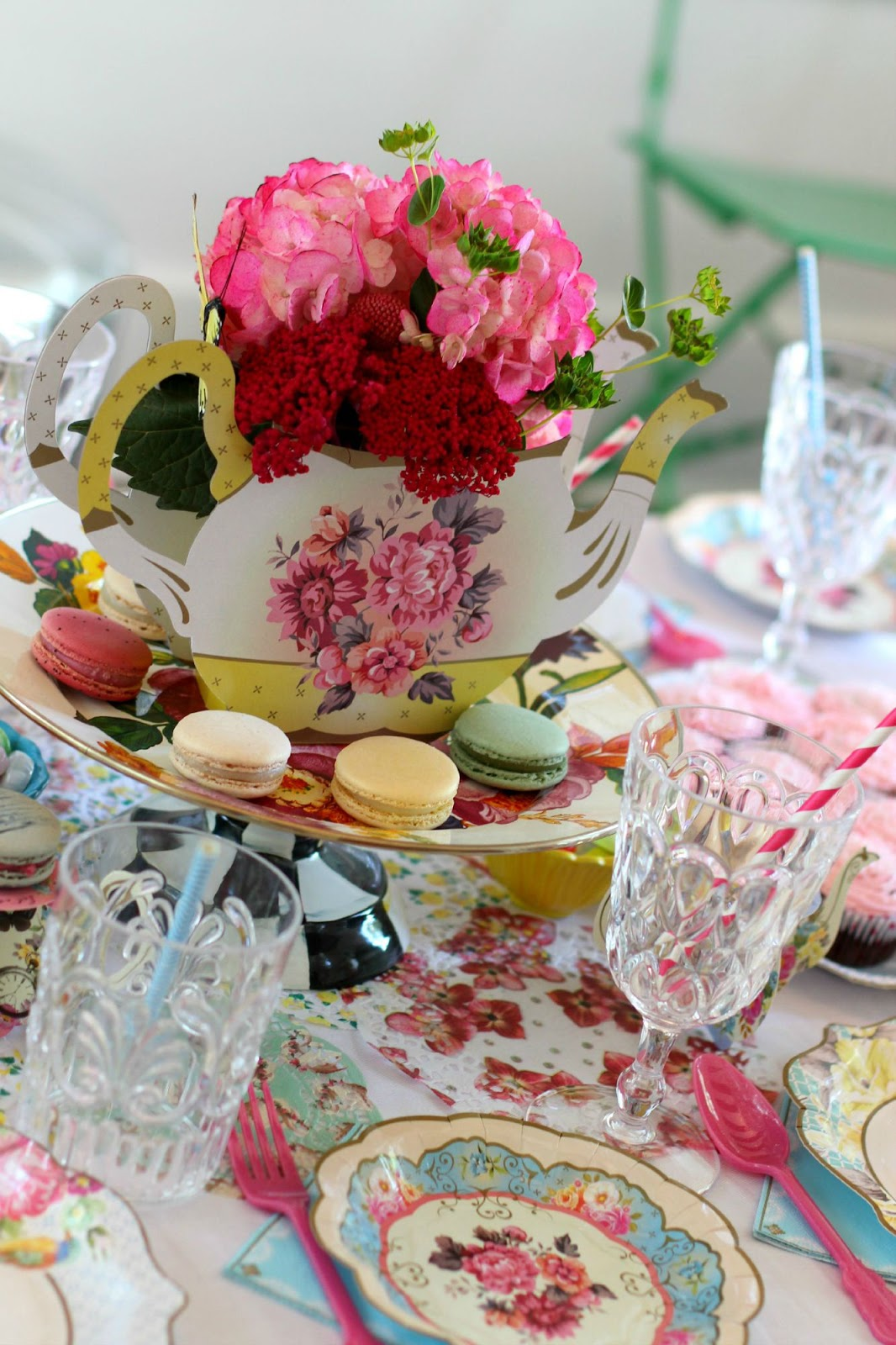 for the love of character tea party table settings fit