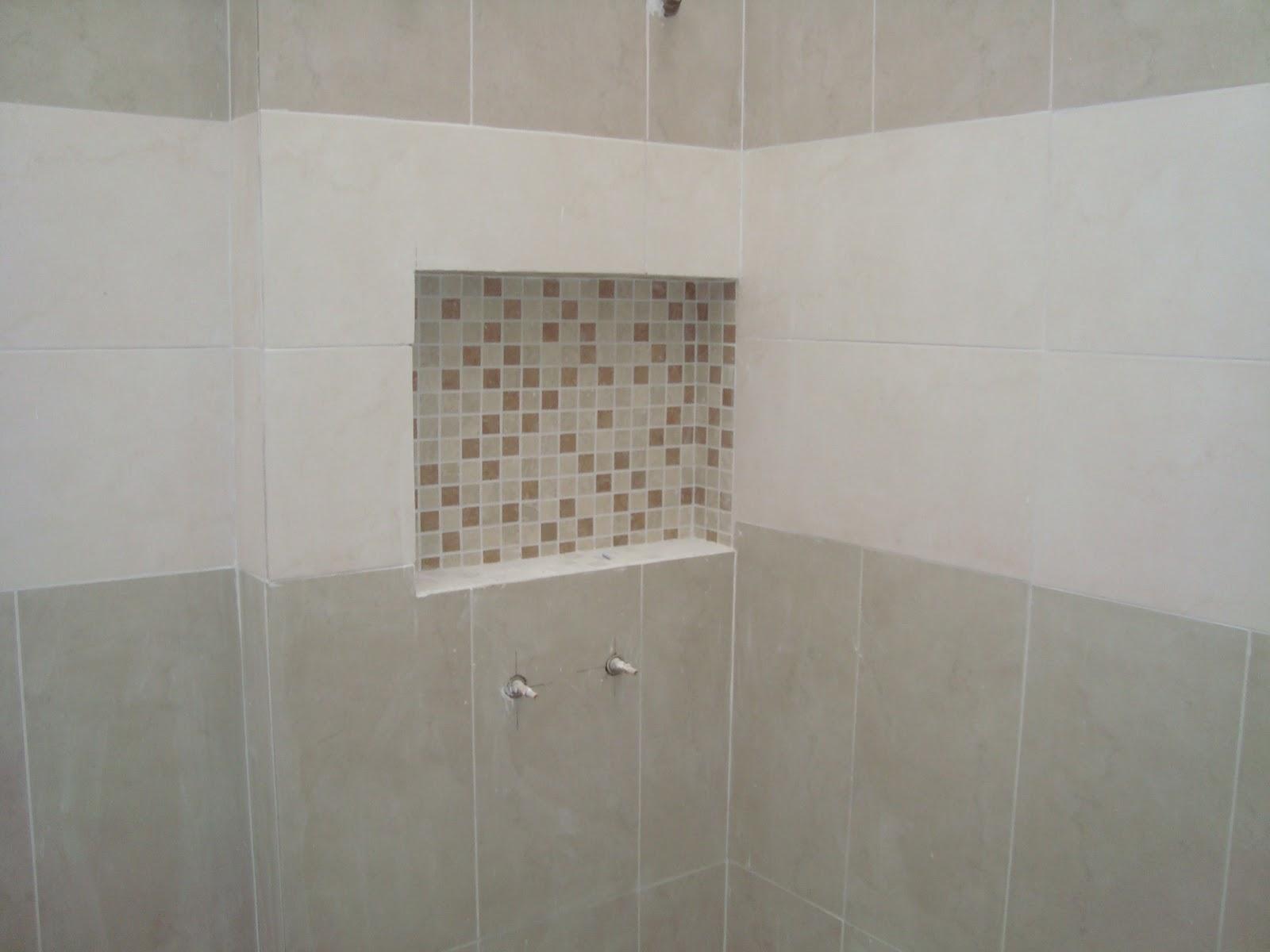 Nossa Casa tão sonhada: Nicho banheiros #76604F 1600x1200 Banheiro Com Nicho