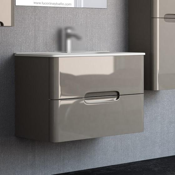 Mueble baño osaka esquinas redondeadas