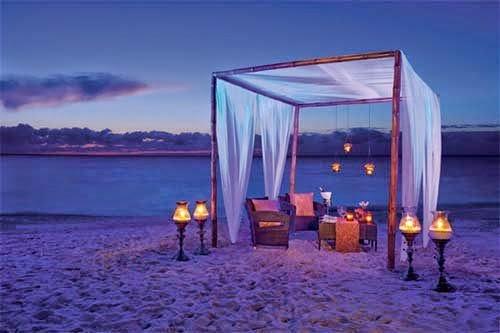 Beach wedding reception decoration ideas