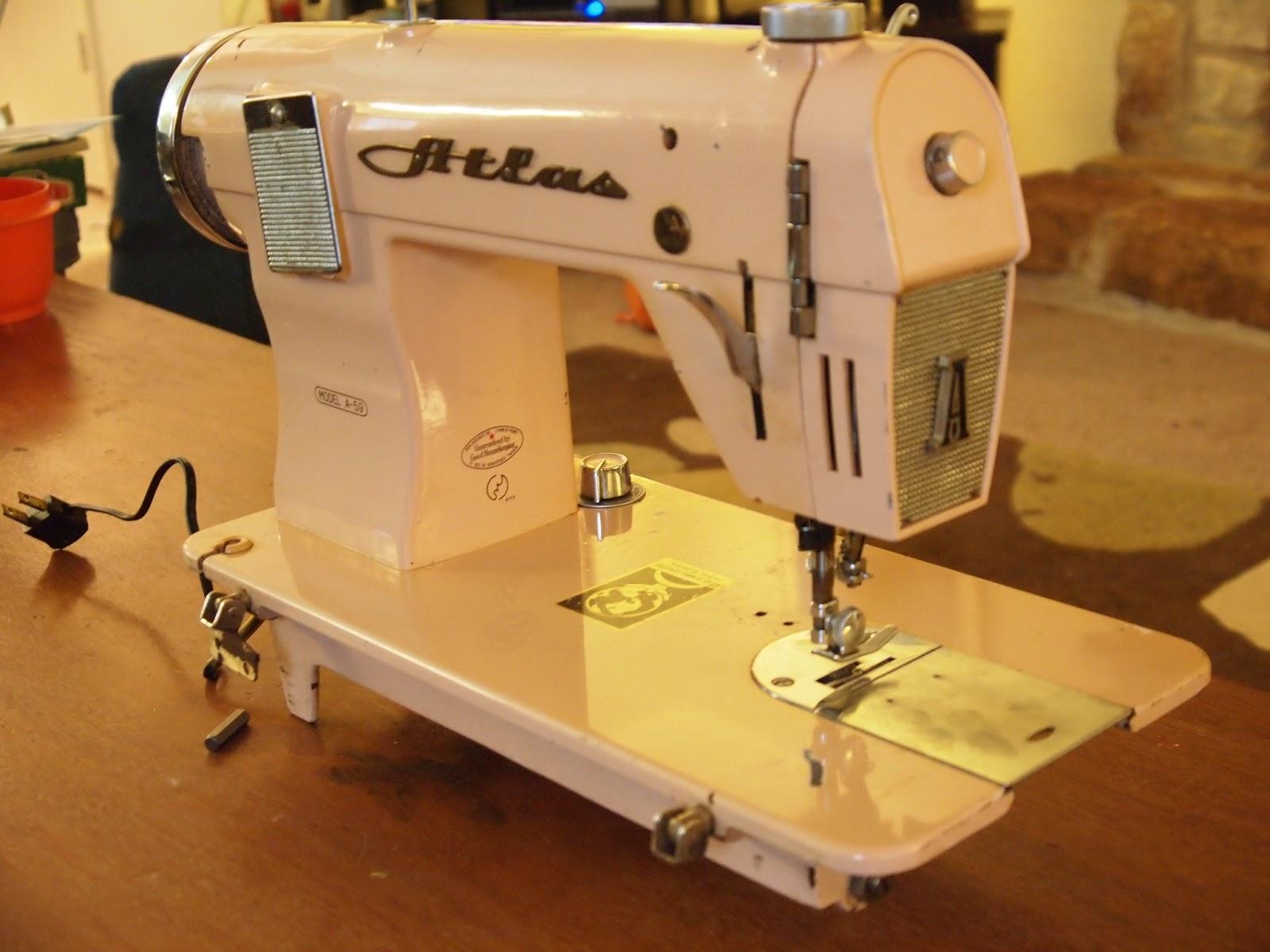 atlas precision sewing machine