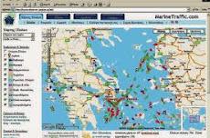 Δορυφορική ροδία πλοίων