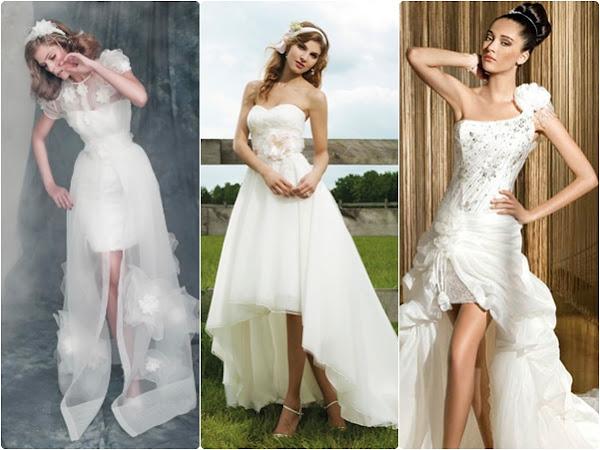 vestido de novia corto y sexy. – hora de ocio
