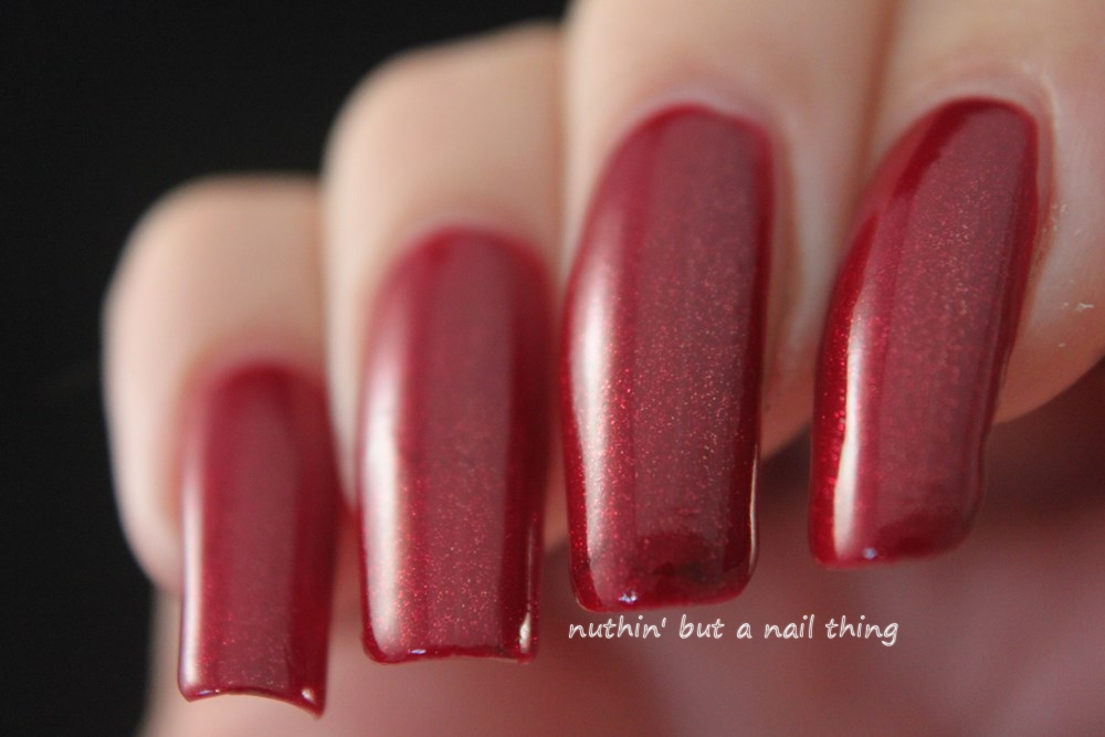 NEW Models Own Collection - Diamond Luxe - Marquise Maroon