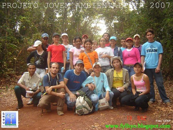 Projeto Jovem Ambientalista Turma de 2007 - 2ª turma