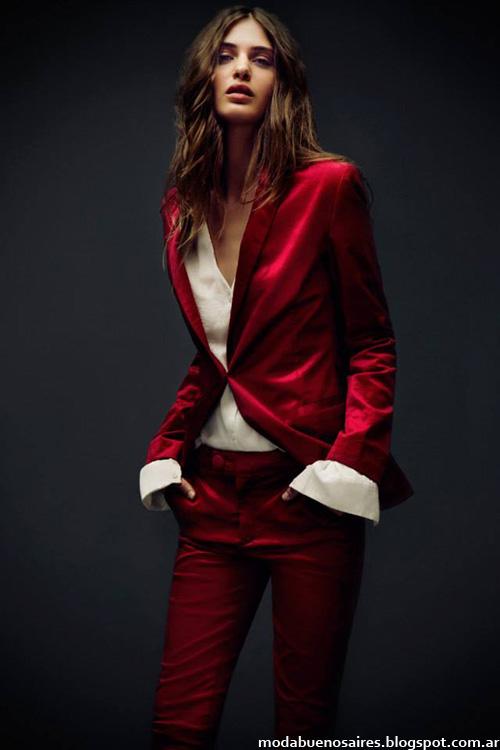 Melocotón trajes de mujer otoño invierno 2014.