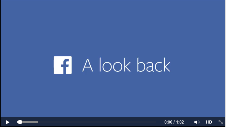 Video Kilas Balik atau Look Back Facebook