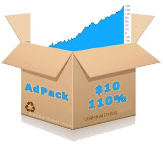 adpack retorno dinheiro ganha ganhar revenue share sharing money visits ad anúncio trafficmonsoon