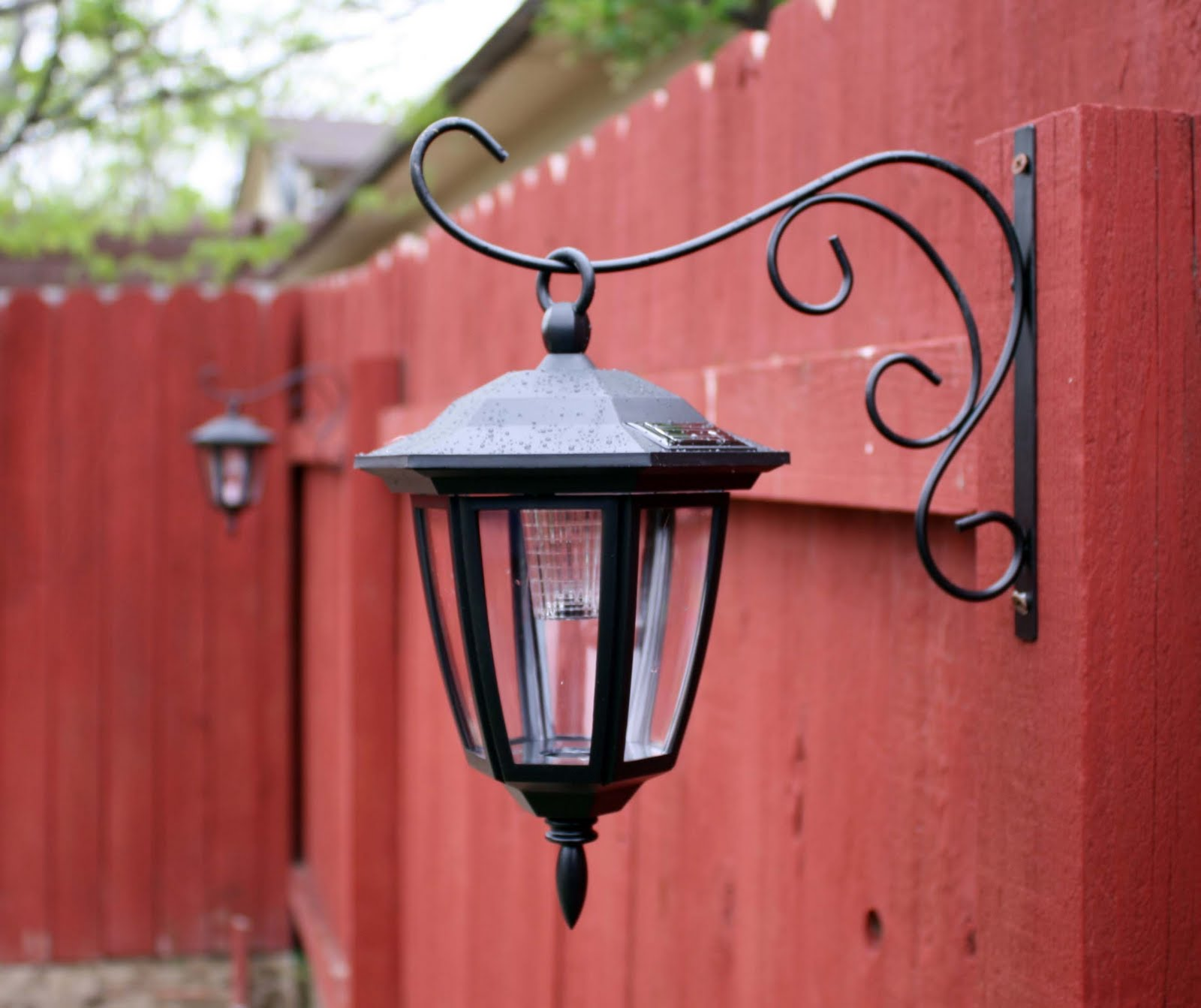 Solar patio lanterns - Patio Lantern Fixtures