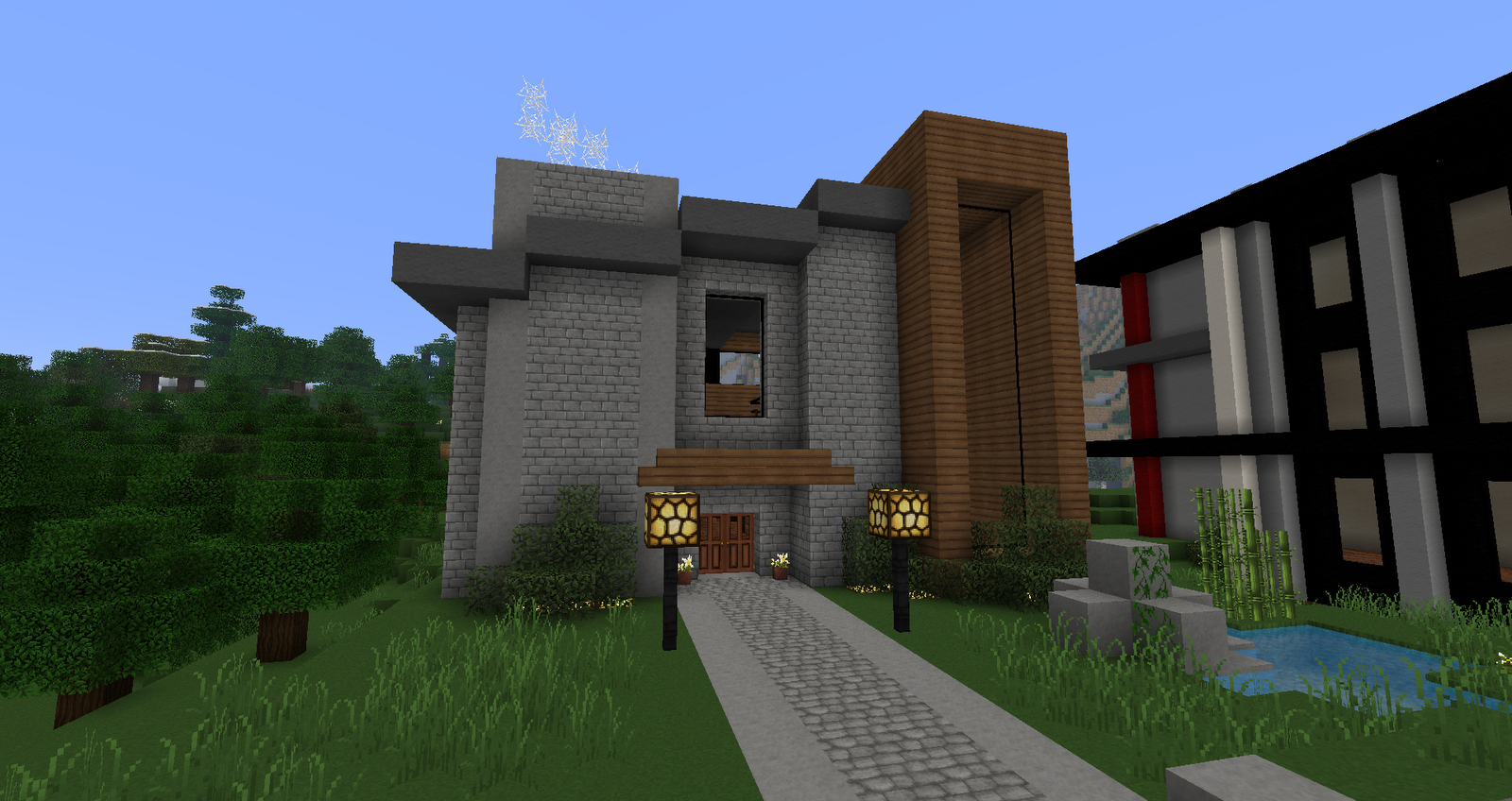 Ruked On Minecraft Modern House 08