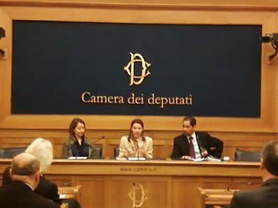 """Presentazione """"Tunisi, taxi di sola andata"""", Roma, Sala stampa Camera dei Deputati, 28 marzo 2012"""