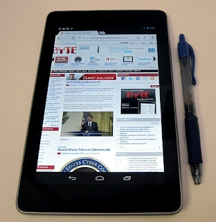 Setting up your Nexus 7 Tablet, Google Nexus7 Setup Guide