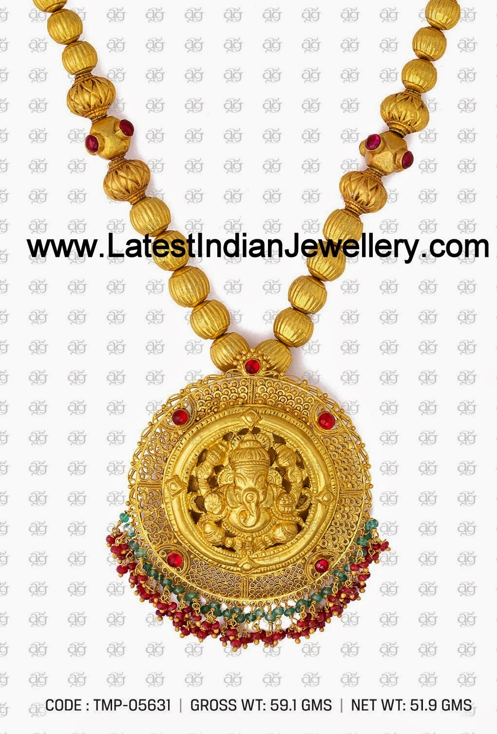 Indian Temple Jewellery Designs