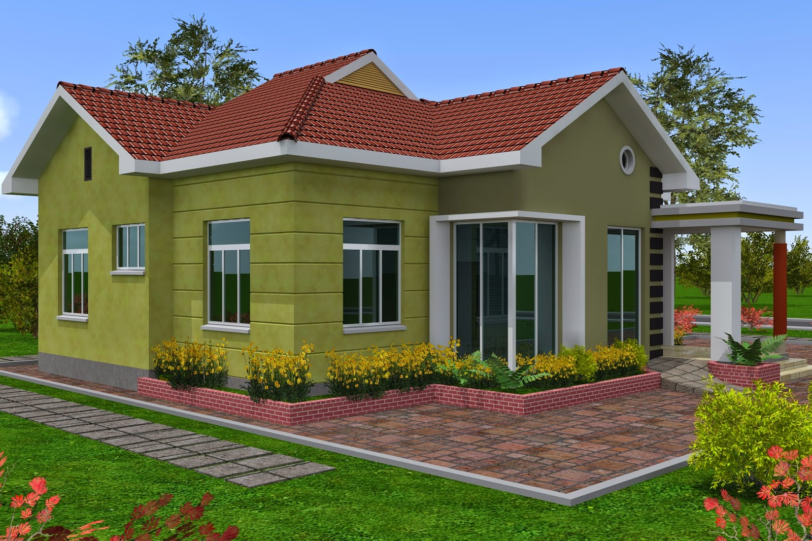 Berot com sample building for Decoration za nyumba