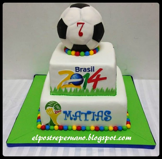 tortas del mundial