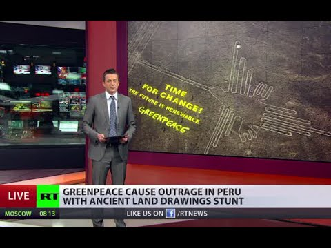 India kicks out Greenpeace - Nazca Lines Damage