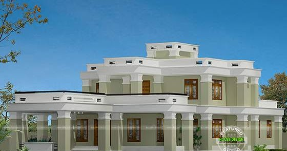 Semi Colonial House Kerala Home Design And Floor Plans