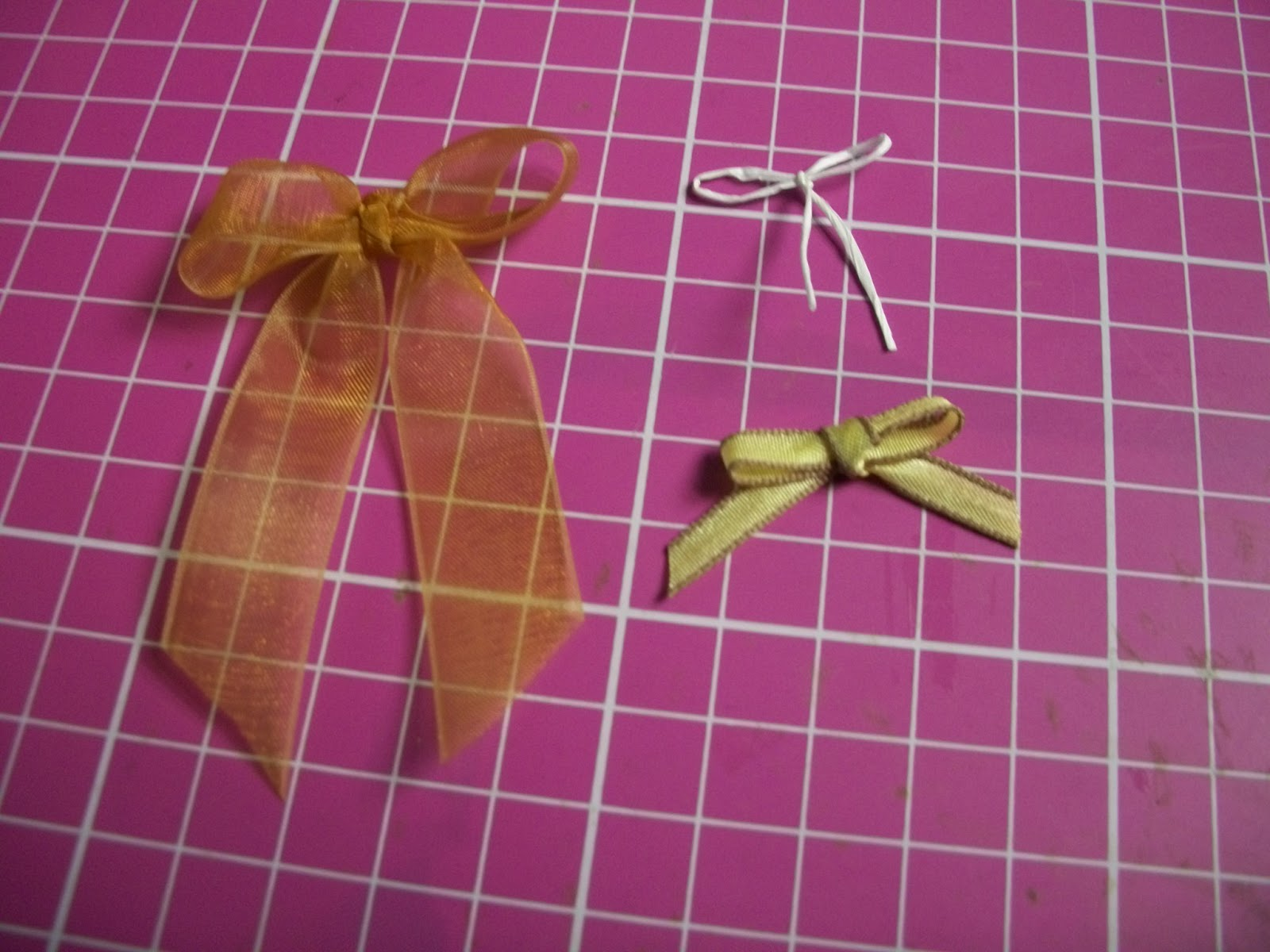 Here are the bows using different numbers of tines (must be an even