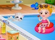 Baby Hazel diversión de verano