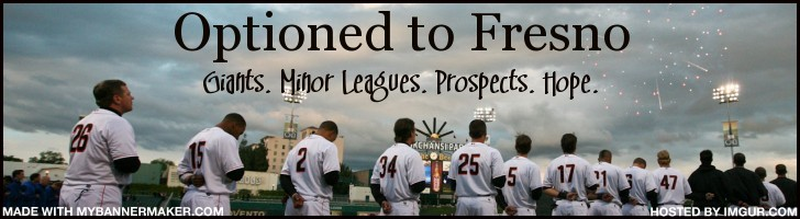 Optioned to Fresno - A SF Giants Prospects Blog