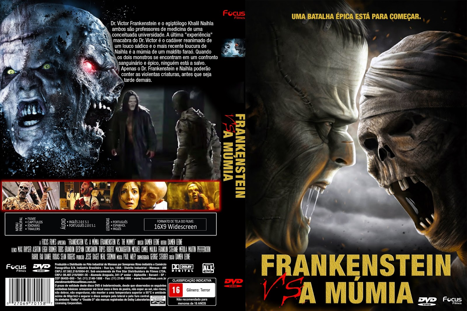 Download Frankenstein Vs. a Múmia DVD-R Frankenstein 2BVs 2BA 2BM 25C3 25BAmia