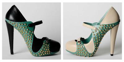 Giulia Gobbi scarpe con borchie autunno/inverno 2012/13