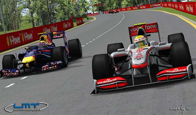 rFactor F1 2010 LMT TrackPack
