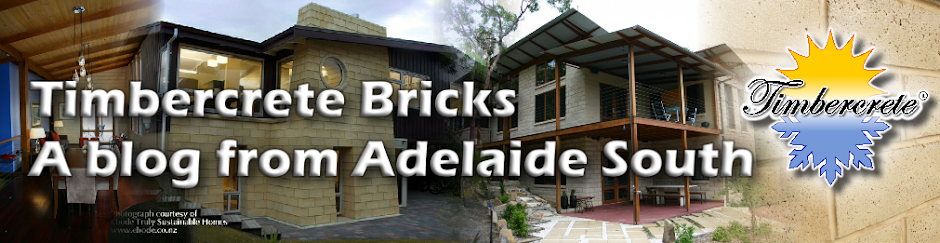 Timbercrete Bricks & Blocks . . .  A Blog From Adelaide South