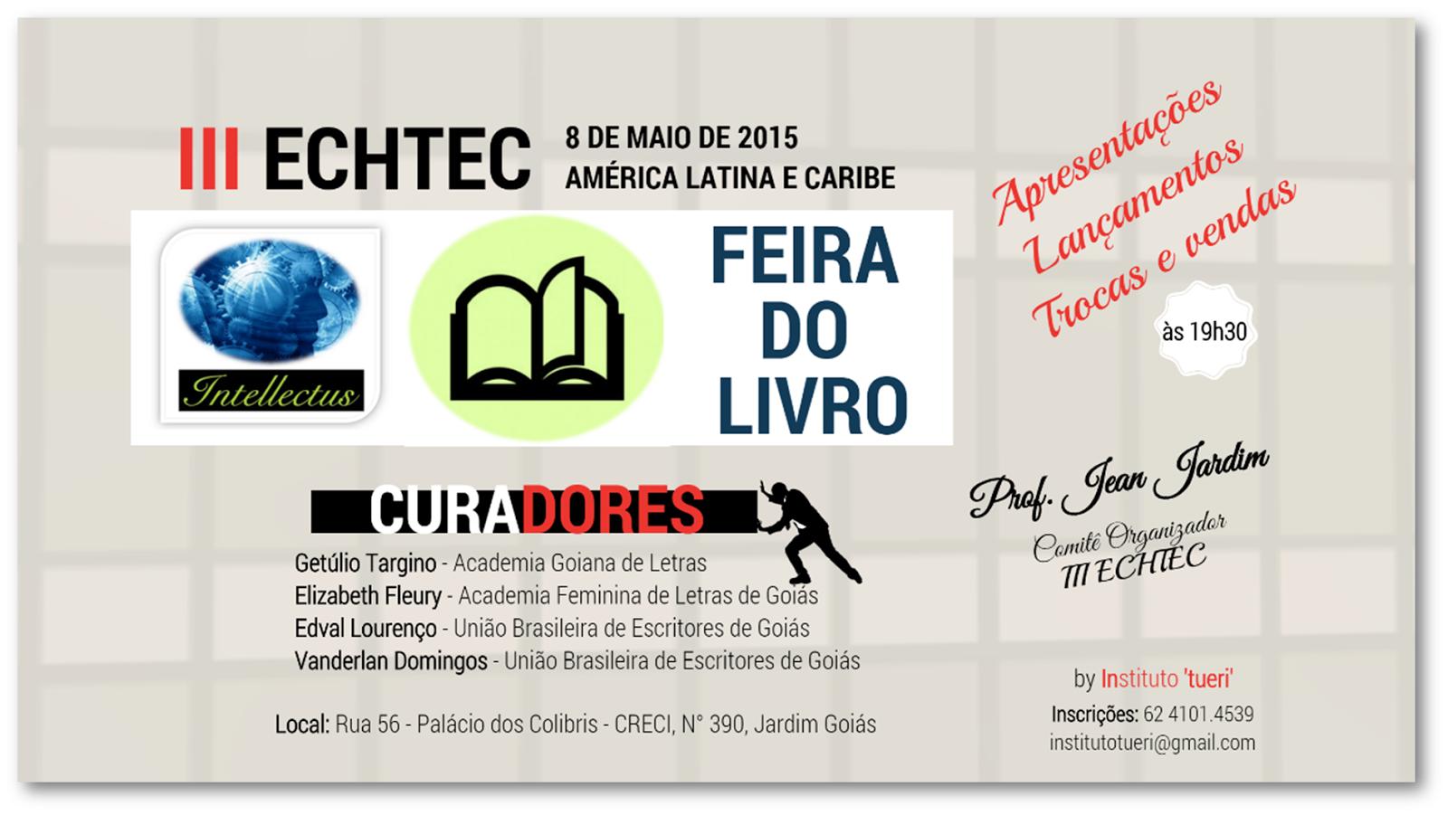 FEIRA DO LIVRO - III ECHTEC 2015