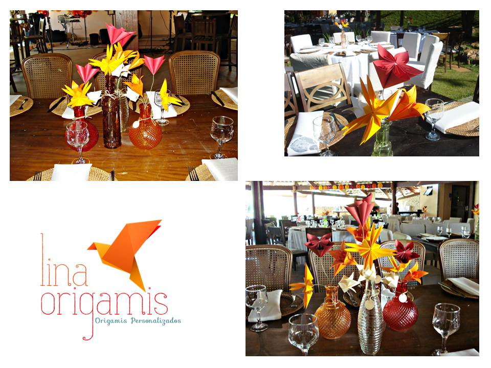 decoracao de casamento origami:Lina Origami: Decoração de Casamento com Origami