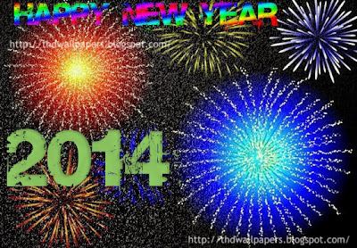 Beautiful Happy New Year 2014 Fireworks Images