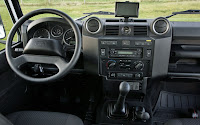 Land Rover Defender 2012 interieur