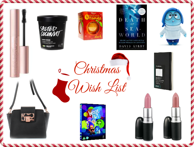 christmas-wish-list-gift-guide-lush-too-faced-better-than-sex-mascara-mac-lipstick-snob-brave-inside-out-vivienne-westwood-garment-quarter-moleskine-diary