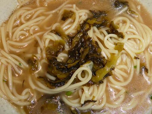 【味のマルタイ】醤油とんこつ棒ラーメン 高菜のせ