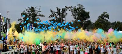 Color Blast - photo credits Ansa