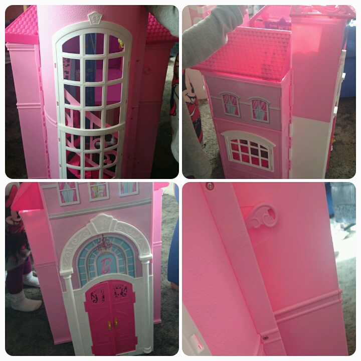 barbie malibu house when folded
