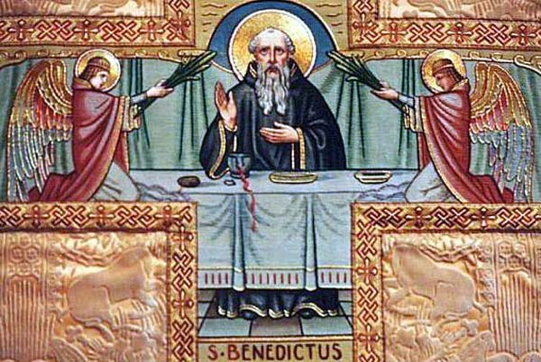 Festa di san benedetto da norcia il magistero del papa - Vi metto a tavola san benedetto ...