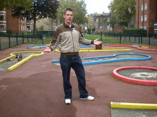 Minigolf and Crazy Golf courses in and around London