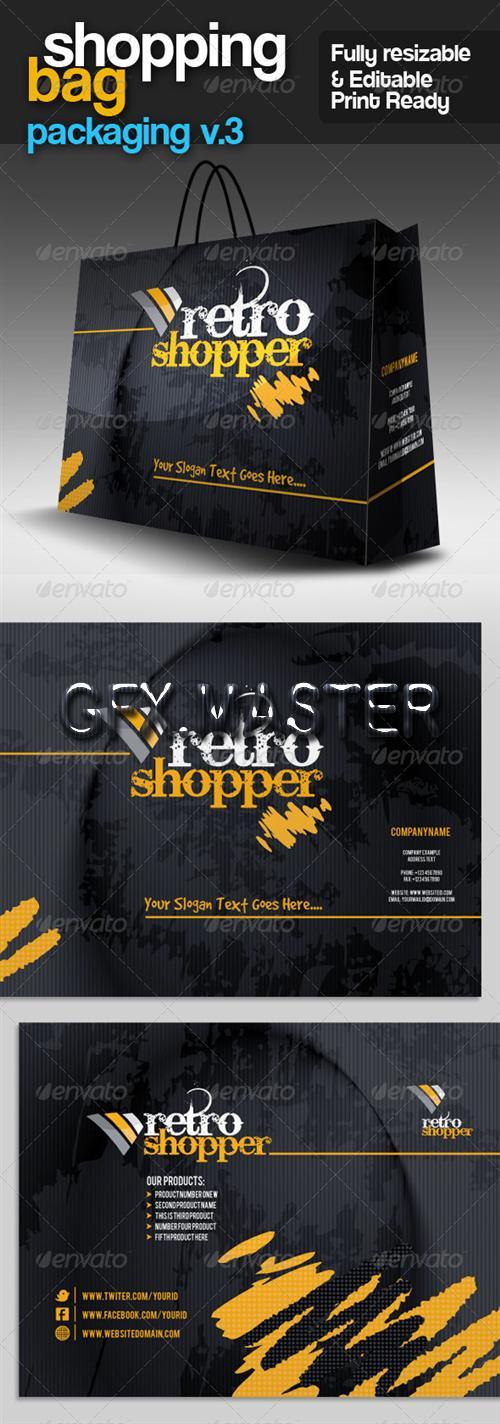Shopping Bag Packaging v.3 - Laku.com belanja online